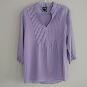 Lord & Taylor purple blouse